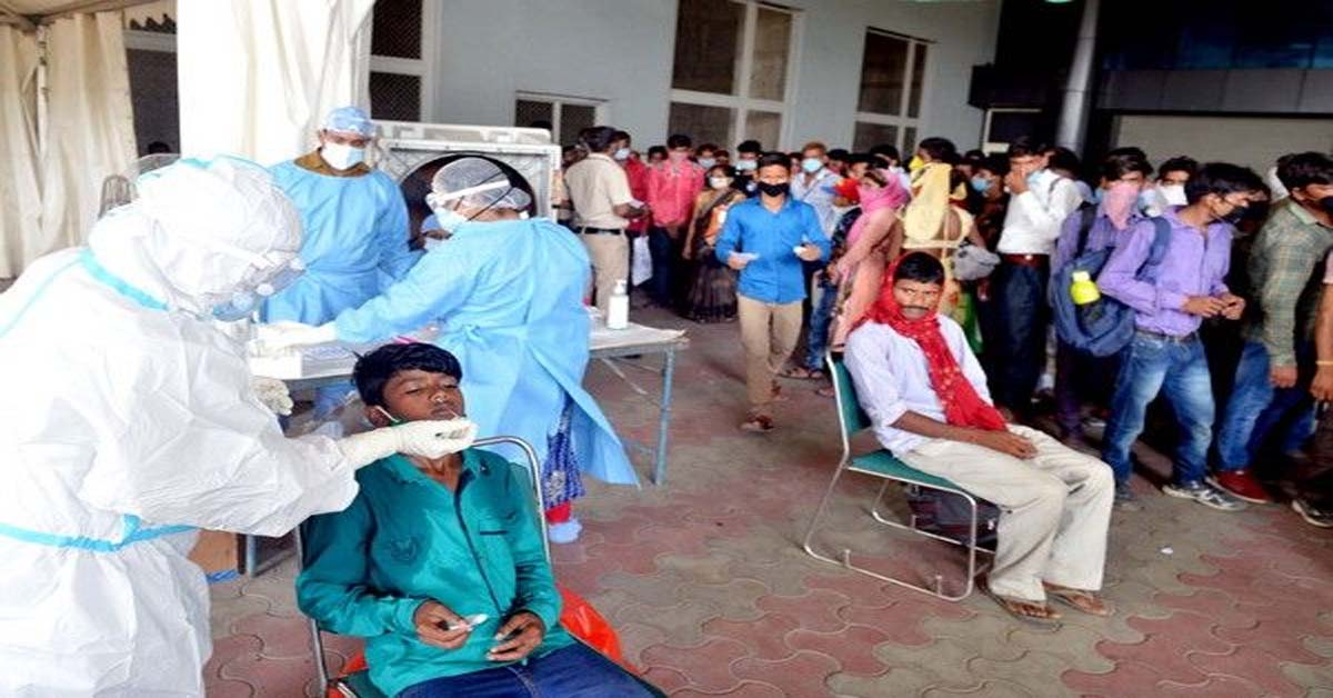 78,357 new cases take India's COVID-19 tally past 37 lakh