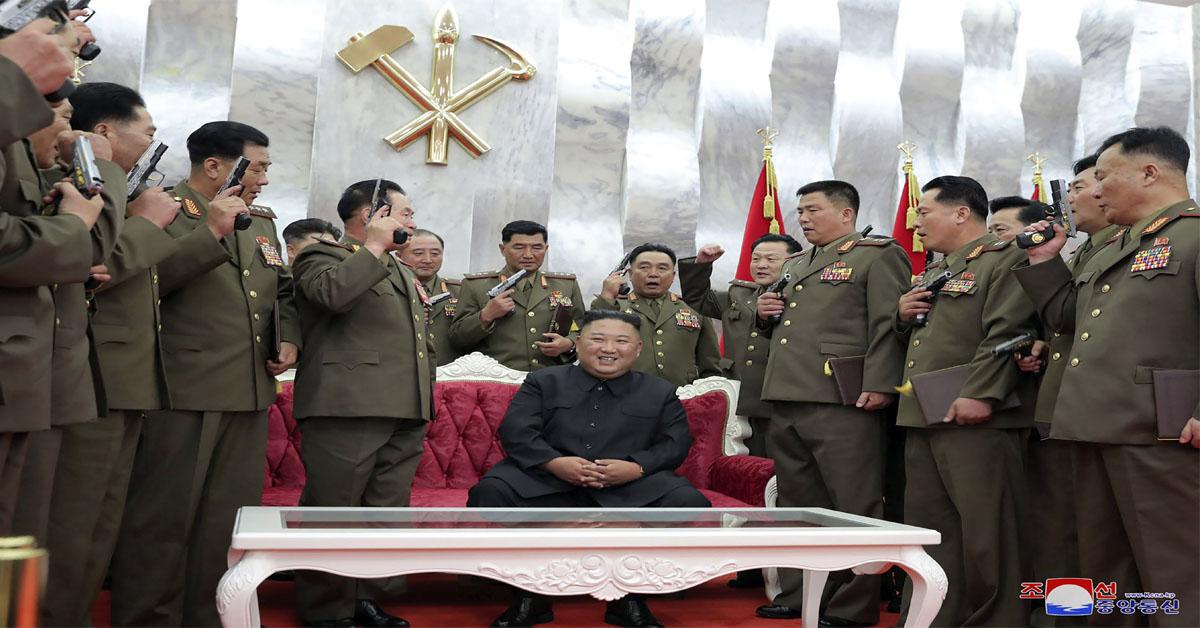 Kim boasts of his nukes amid stalled talks with US