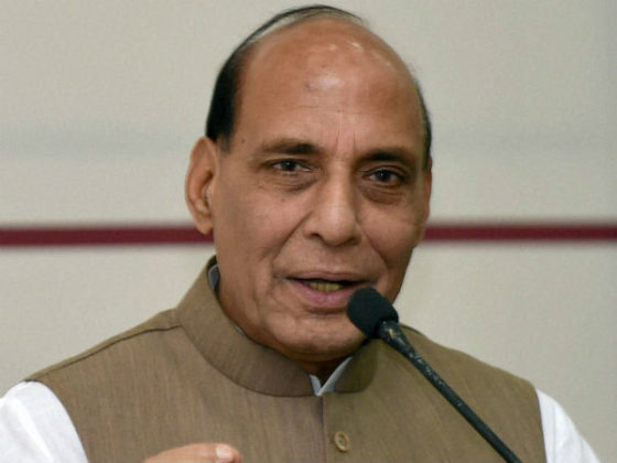 Pak played 'key role' in fomenting trouble in Kashmir: Rajnath