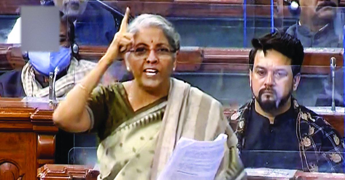 Rahul Gandhi's barbs hit home, called 'doomsday man for India' by Nirmala Sitharaman