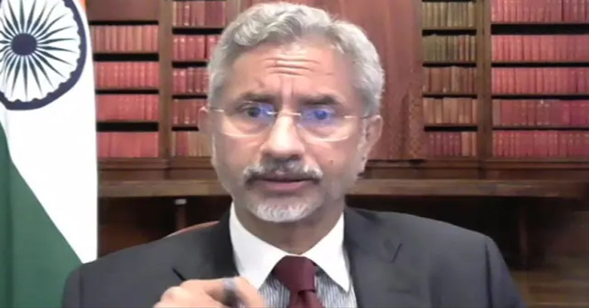 """""""You Don't Stop Elections In A Place Like India"""": S Jaishankar Amid Covid"""