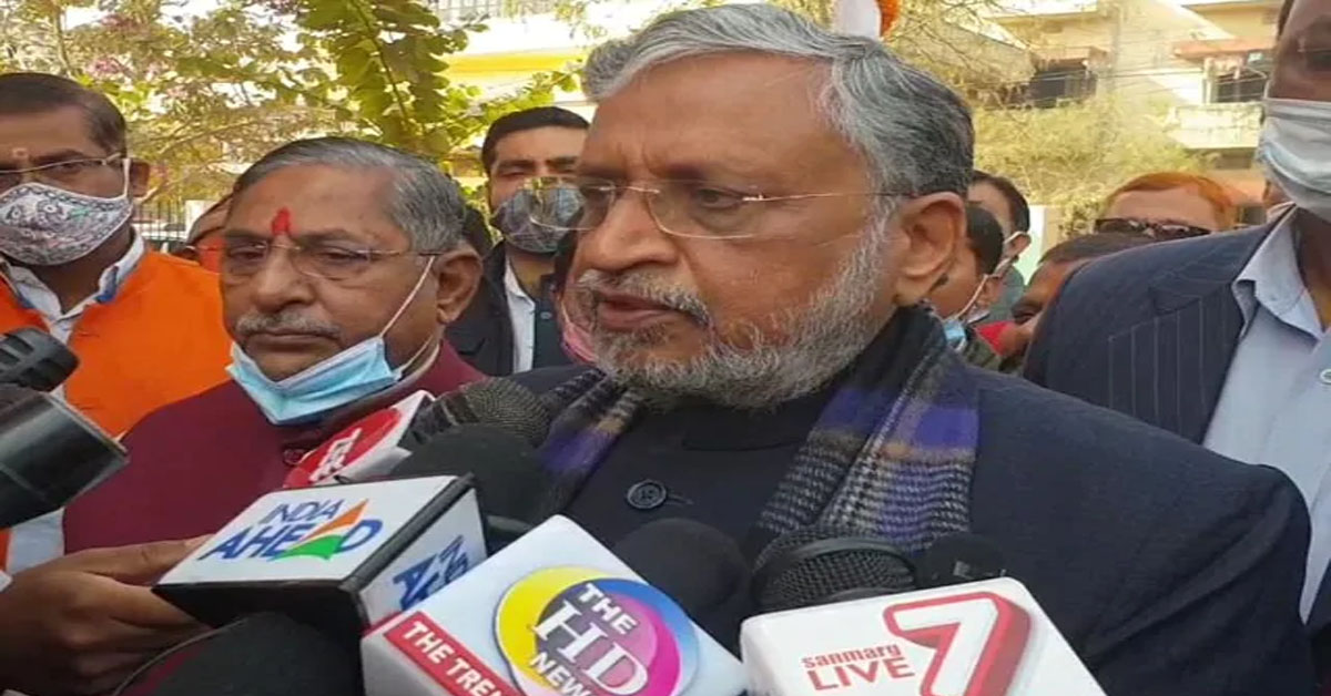 """""""Had Arun Jaitley Been Alive…"""": BJP's Sushil Modi Appears To Poke Party"""