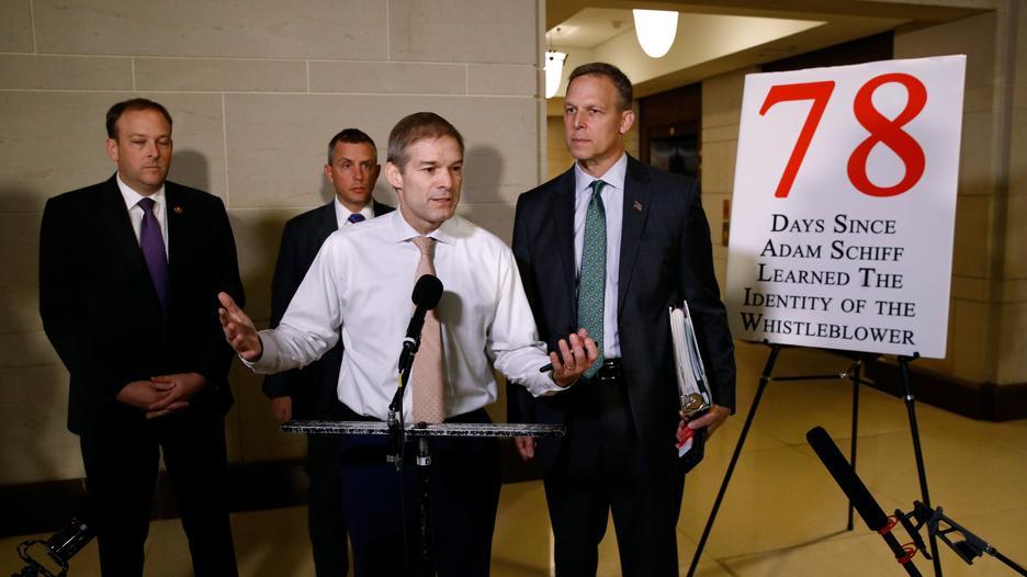 Republicans Push For Whistleblower's Identity In Impeachment Inquiry