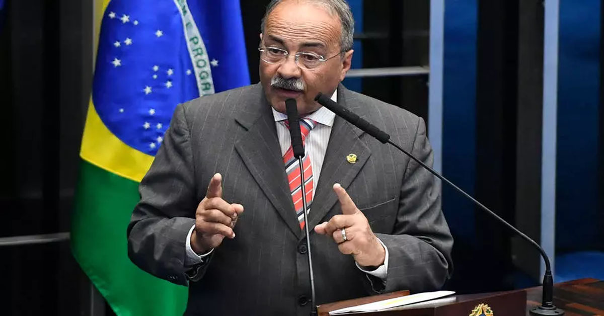 "Brazilian Senator Caught Hiding Money ""Between Buttocks"""