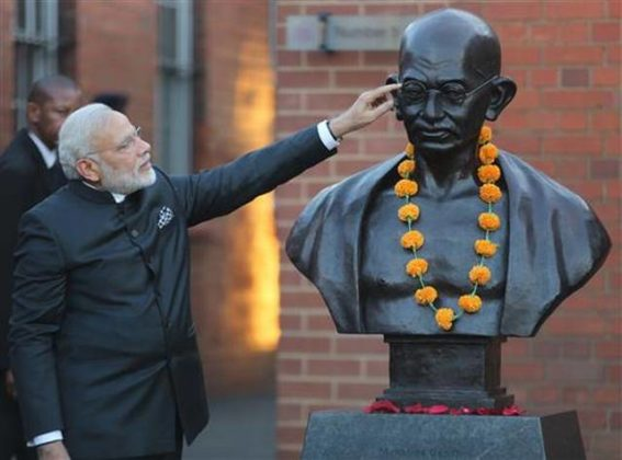 Prime Minister Modi to mark Gandhi's historic South African ride