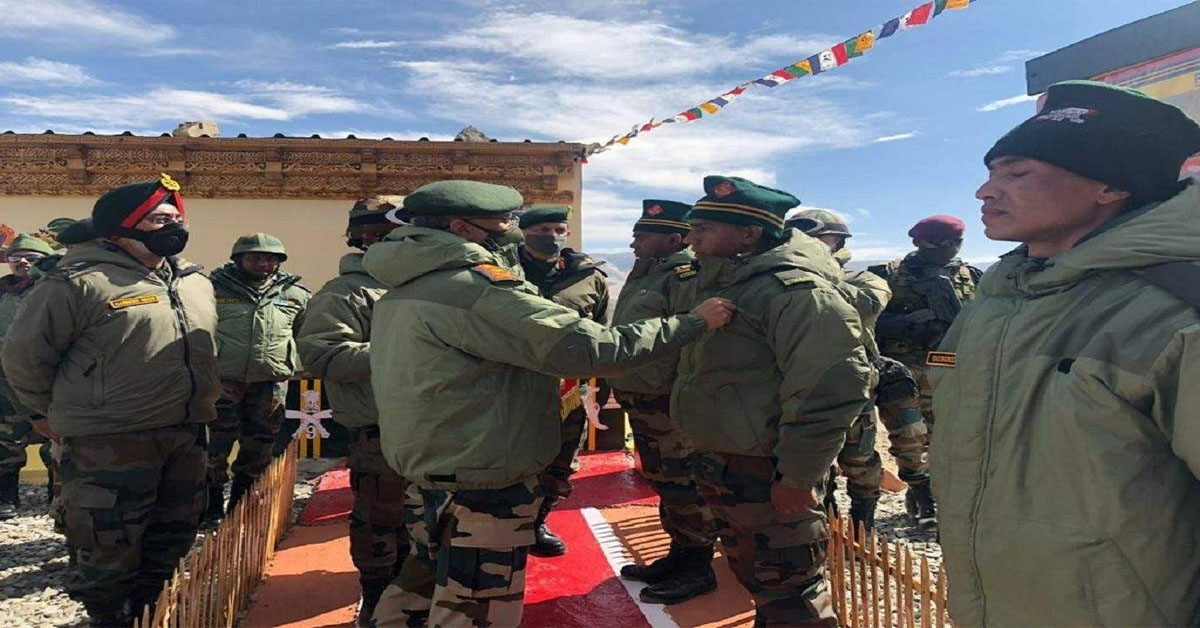 Army chief visits forward areas in Ladakh