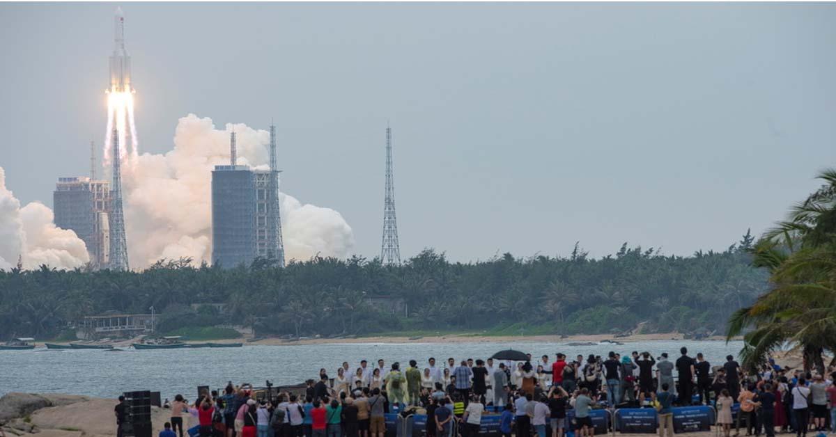 China says Long March 5B rocket BURNED UP over Indian Ocean near Maldives