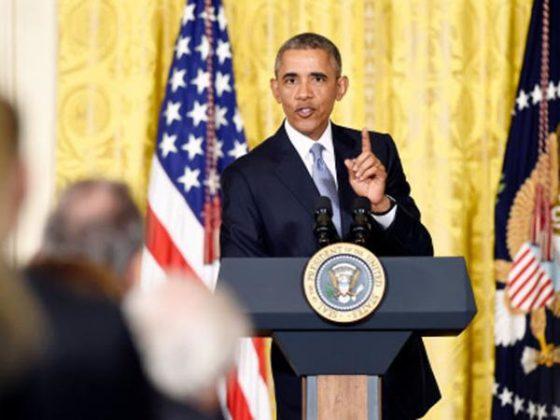 "US President Barack Obama condemns ""horrific terrorist attack"" on France"